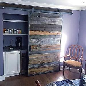 Custom Sliding Doors, Hardware, Mantels, Reclaimed Barn Board & More