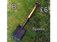Gardening Tools (B) - Spade