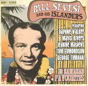 Bill Sevesi 25 Hawaiian Favourites 1960s Steel Guitar , New Zealand cd