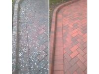Professional Powerwashing, driveway cleaning,patios,paths,walls all cleaned. Also decking restored.