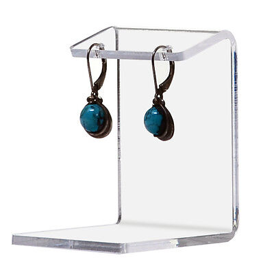 Small Earring Display Holder Jewelry Stand Showcase Clear Acrylic