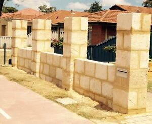 Walls .... Retaining walls ... Limestone Perth Perth City Area Preview