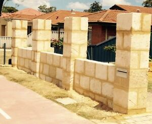 Walls.... Retaining Walls ... Limestone ... Garden beds Perth Perth City Area Preview