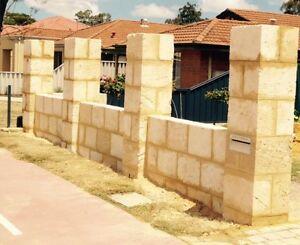 Walls ...Retaining walls ... Limestone Perth Perth City Area Preview