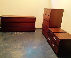 Ensemble de commodes IKEA pour chambre | 4 meubles pour 195$