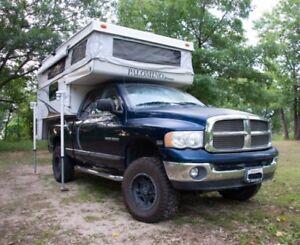Pick up truck camper Dodge ram - Caravane portée - VR - Van