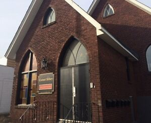 1 bedroom unit in re-purposed church (6-plex)