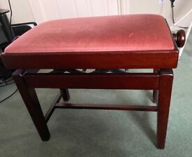 Tozer adjustable piano stool
