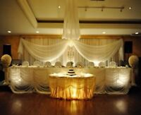Fabulous Wedding decorations and chair covers