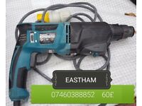 MAKITA 110V hamerdril 60£