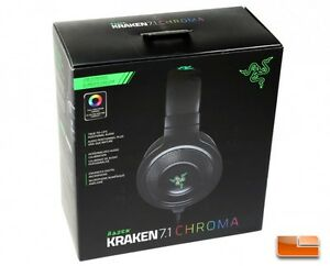 Razer Kraken 7.1 Chroma Headset (Brand New - Open Box) Peterborough Peterborough Area image 1