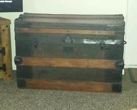 Antique Chest/bedding box