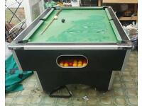 Slate bed pool table for sale