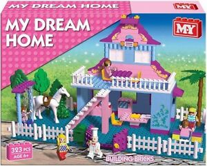 My-Dream-Home-building-block-set-Princess-House-Brick-Set-323pcs-Girls-6