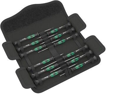 Wera kraftform micro-set/12 SB 1 / satz + tasche elektronik schraubendreher 12