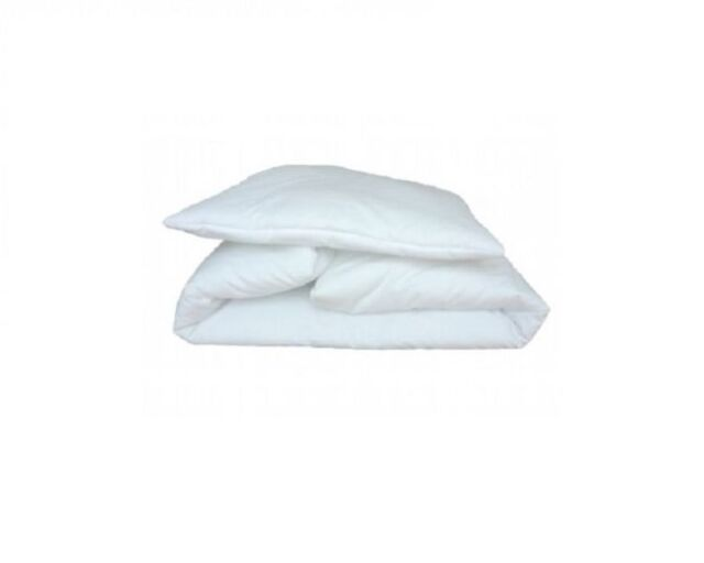 BABY'S COMFORT DUVET/QUILT & PILLOW FOR COT / COTBED SIZE:135x100 cm