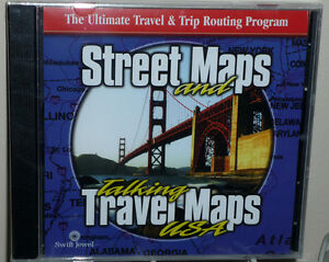 CD Street Maps and Talking Travel Maps USA .. NEW Cambridge Kitchener Area image 1