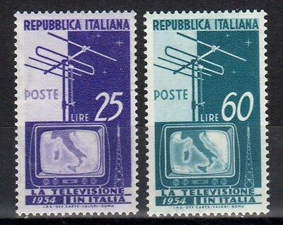 Italia Repubblica 1954 Servizio Televisivo MNH**(135)