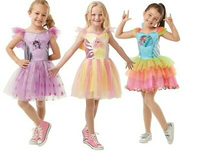 My Little Pony Costume For Kids (Deluxe Girls My Little Pony Kids Fancy Dress Costume - Outfit For Book)
