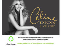 Celine Dion Tickets Sold out! -- Read the ad description before replying!!