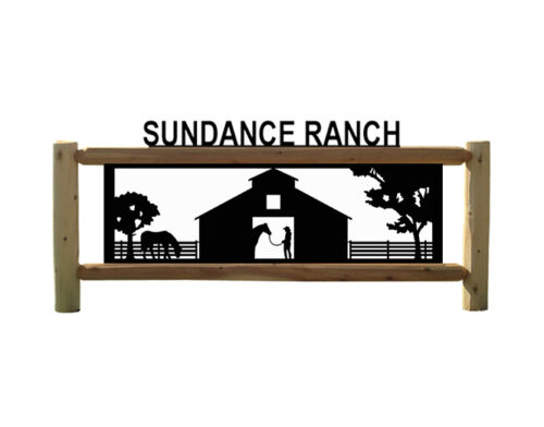 PERSONALIZED HORSE SIGN  -SADDLES - FARM AND RANCH WOOD SIGNS