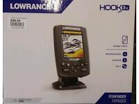 New Lowrance Hook 3 depth fish finder