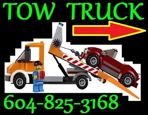 TOWING*FLAT-RATES*-VANCOUVER*604+825+3168 FLAT DECK TOW TRUCK