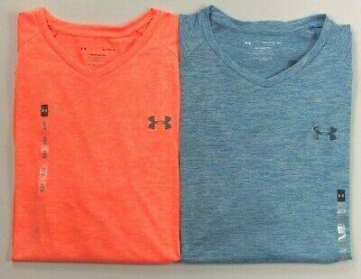 Men's Under Armour The Tech Tee Heat Gear V-Neck T-Shirt Heatgear V-neck T-shirt
