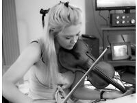 Violin/fiddle teacher- experienced and enthusiastic young teacher