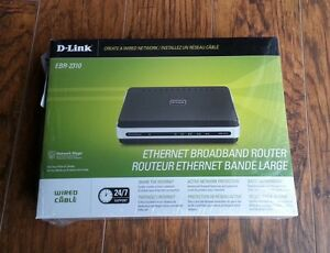 D-Link EBR 2310 10/100 Broadband wired 4 port unmanaged switch