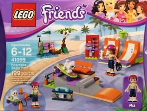 ** lego friends 41099 heartlake skate park new sealedmint box