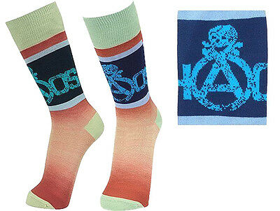 Vivienne Westwood Man Japan Gradient Socks CHAOS Skull-Size 25-26cm US7-8 UK6-7