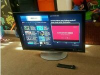 Panasonic viera 37 inch full HD led Internet TV new condition fully working with remote control