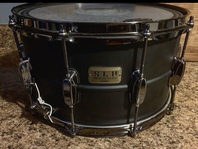 Tama S.L.P. Series Big Black Steel Snare Drum