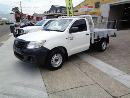 From $81 p/week on finance* 2014 Toyota Hilux Ute Workmate