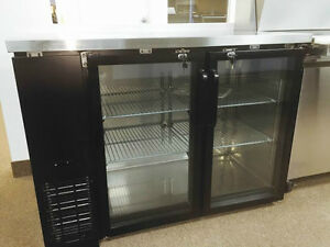FRIGO A BIERE NEUF / NEW BACK BAR & BEER FRIDGE