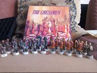 Chess set figures