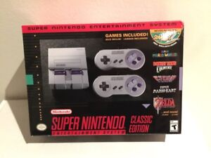 SNES Classic Edition New and Sealed