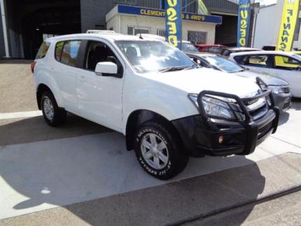 From $107 per week on finance* 2014 Isuzu MU-X SUV