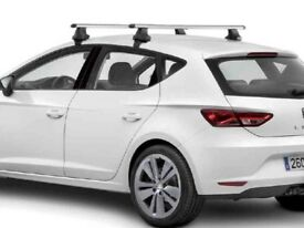 Genuine SEAT Leon 5f Mk3 2013-2017 Roof Bars NEW!