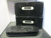 Sony Iphone Dock Dock With 2 Wireless Multi Room Speakers
