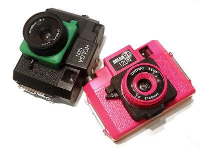 Format Camera Adapter - HolgaMods Holga 120 Medium Format Camera 3D Printed Cable Release Adapter