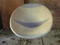 Retro antique satellite chairs