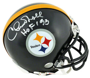 Chuck Noll Autographed Mini Helmet | Details: Pittsburgh Steelers, with
