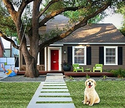4x7 Premium Synthetic Turf Green Artificial Grass Lawn Landscape Dog Fake Grass