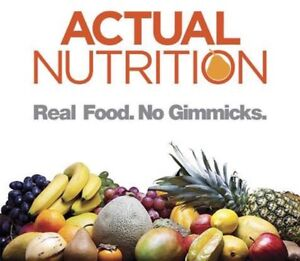 Actual Nutrition Saint John - Nutrition Consult / Meal Planning