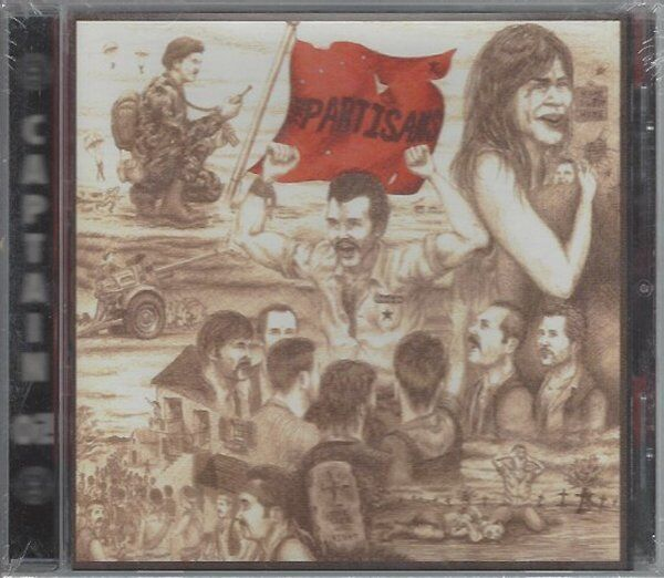 THE PARTISANS - THE TIME WAS RIGHT - (still sealed cd) - AHOY CD 70