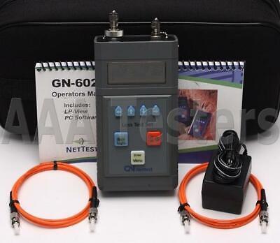 Gn Nettest Gn-6025 Mm Fiber Optic Loss Test Set Gn-6025m50 Gn 6025