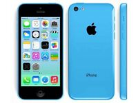 IPHONE 5C BLUE ON O2
