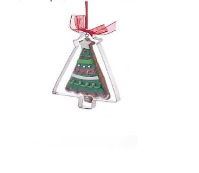 Gingerbread Cookie Cutter Christmas Ornament Christmas Tree Kurt Adler Christmas ()
